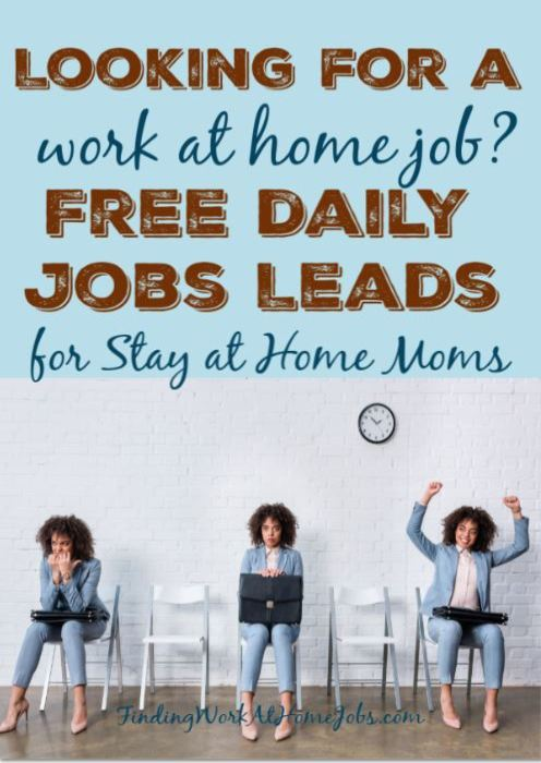 work at home jobs blog