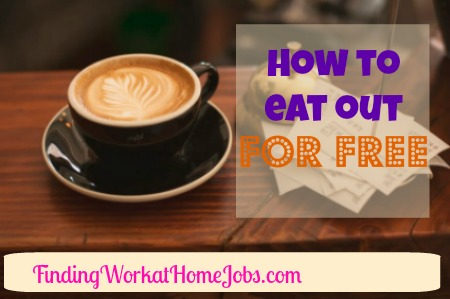 How to Eat out for free