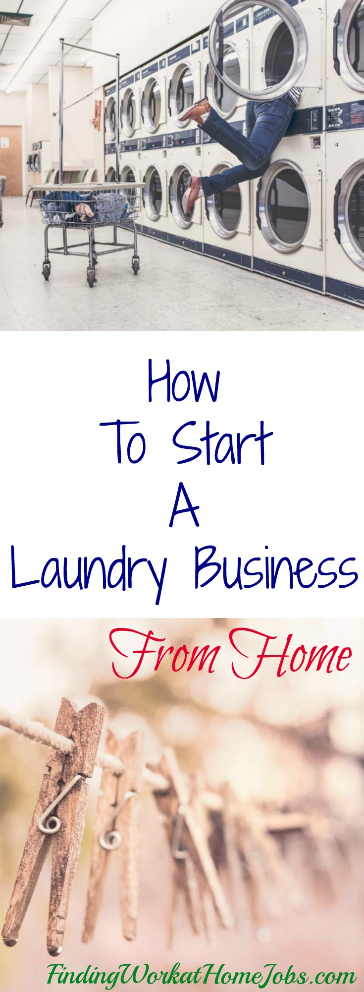 start a laundry business from home