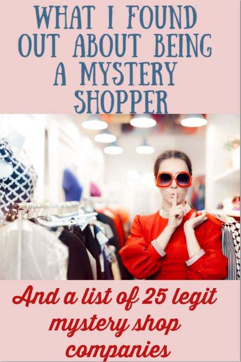 How to be a Mystery Shopper