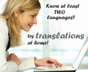 work from home translation jobs