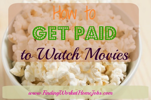 Get Paid to watch movies