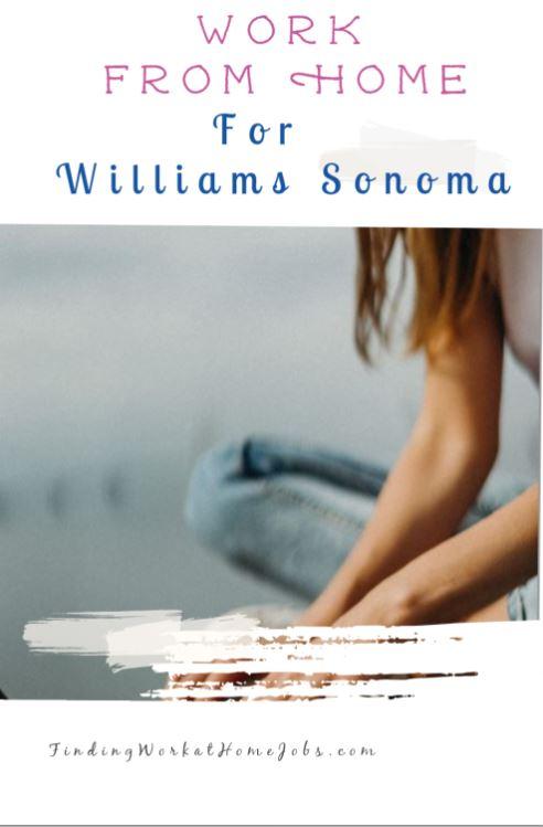 williams sonoma work at home job
