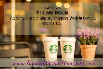 Make up to $15 an hour from home via Telephone Mystery Shopping