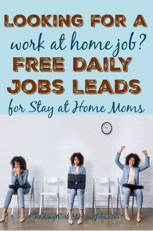Daily Job Leads for moms