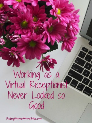 working as a virtual receptionist