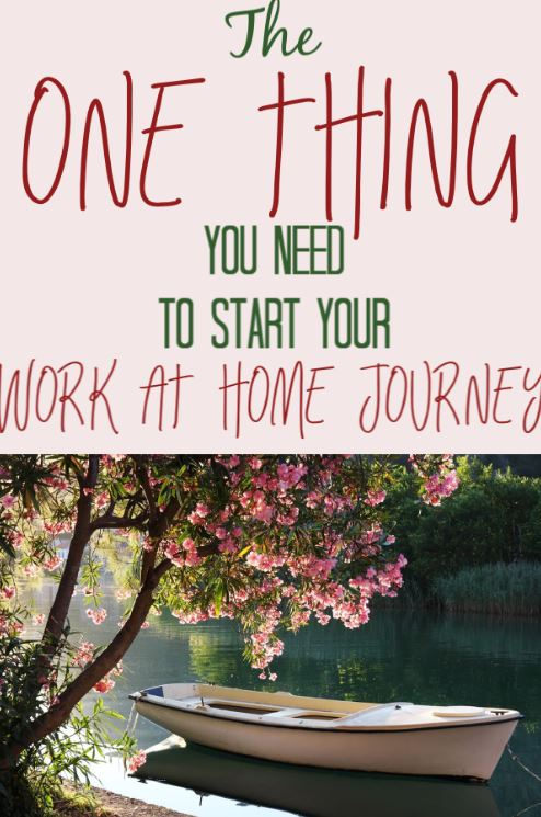 the one you thing you need to prepare to work from home