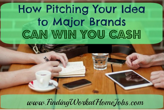 How Pitching Your Ideas to Major Brands Can Win You Cash