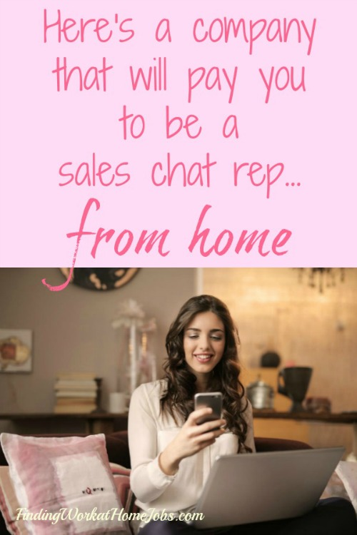sales chat rep jobs