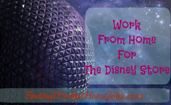 work from home for the disney store